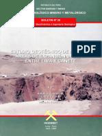 C 020 Boletin Estudio Geotecnico...Entre Lima Cañete