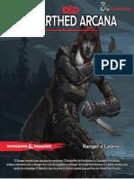 D&D 5E - Unearthed Arcana - Ranger e Ladino - Biblioteca Élfica