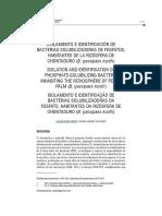 Isolation and Identification of Phosphate-solubili