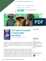Trik Aplikasi Fungisida Tembaga Sulfat Dan Oksida _ Sarana Agri