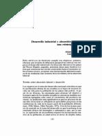 Desarrollo Industrial y Absorción Laboral - Alejandro Portes y Lauren Benton