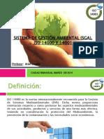 Sistema Gestion Ambiental Sga Iso 14000 y 14001