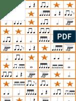 Bingo Musical - Células Ritmicas