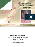 The Universal Prayer