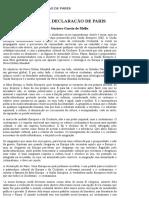 Introdução à Declaração de Paris