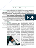 International Standards for Tuberculosis Care[2] 2006