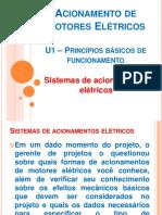 U1 - M1 - Acionamento de Motores Elétricos