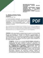 RECURSO DE  REVISION ANTE EL TRIBUNAL SUPERIOR AGRARIO