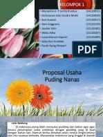 KELOMPOK 1, Proposal Puding Nanas