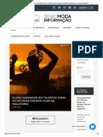 FAFM - Senac Moda Informação _ Conteúdo de moda, comportamento, negócios e tendências globais para o mercado brasileiro