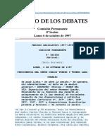 Diario de Los Debates Sesion 8