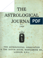 1959 January the Astrological Journal