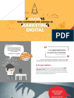 7 Razones Para Contratar Una Agendia de Marketing Digital