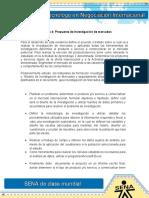 Evidencia 4 Propuesta de Investigacion de Mercados Docx