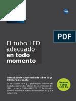 ODLI20170322 001 UPD Es ES TLED Master LEDtube Leaflet 210x297 Online ES v1 Copia