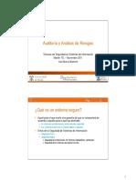 Análisis de Riesgos y Auditoría - IMPRIMIBLE