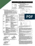 Manual UPS aPC 450w