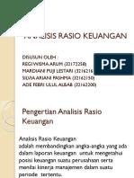 Analisis Rasio Keuangan Ppt Presentasi