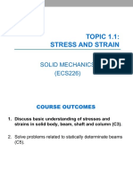 1-Stress and Strain