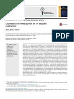2. Lapregunta de investigacion en estudios cualitativos-Hamui.pdf