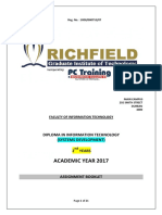 Assignment Booklet 2017-Diploma 2nd Year-systems Development Updated