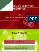 Pemeriksaan Fisik Neonatus