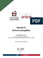 Apunte Sobre NIC 38 Activos Intangibles