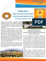 India One Newsletter Nov 2015