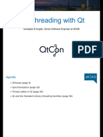 Multithreading With Qt