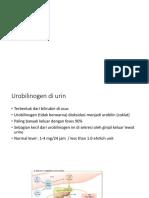 Urobilinogen Di Urin
