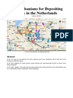 The Mechanisms for Depositing Loess in the Netherlands