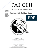 Tai Chi Retreat Course Book - Www.taichibali.com