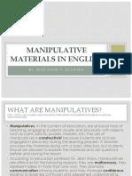Inset Manipulative Materials