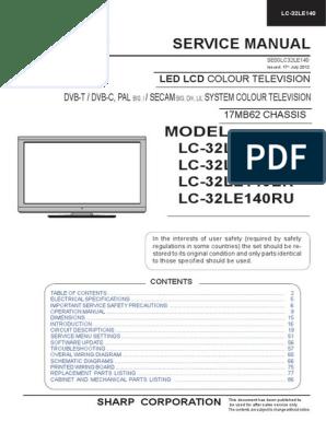 MANUAL 17MB62.pdf | Hdmi | Soldering on