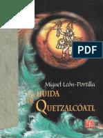 Leon Porilla Huida-Quetzalcoatl