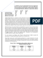 Capital Market and Portfolio Management
