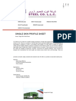 Single Skin Profile Sheets Manufacturers&Suppliers in UAE -A to Z STEEL