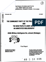 Communist Party of the Philippines Bibliography