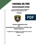 3. Silabo Accionar de La Pnp en El Control Del Orden Publico