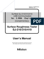 Surftest SJ-210_310_410 USB Communication ManualV5.006