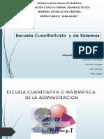 Diapositiva Escuela Cuantitativa
