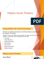 Filipino Social Thinkers