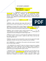 SettlementAgreementForm FAA Disputes