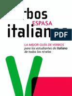 Verbos Italianos. Espasa