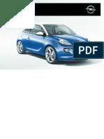Opel Adam Betriebsanleitung
