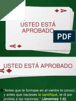 2016-06-07  USTED ESTÁ APROBADO