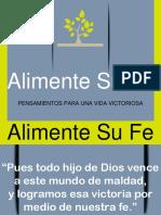 2016-08-24 Alimente Su Fe