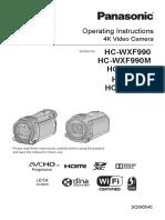 Panasonic - Operating Instructions