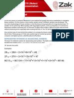 1.1.2 Hexadecimal