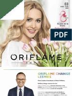 Oriflame Mars 2018